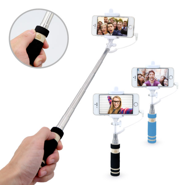 Mini Selfie Stick With Wire